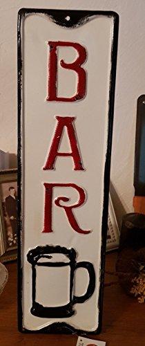Antic Line Grande Plaque « Bar » 47 * 13 cm