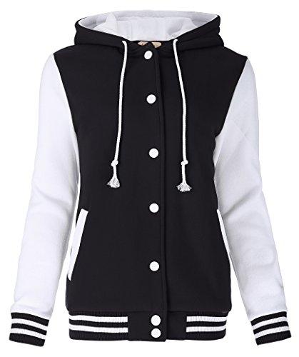 Damen Herbst Winter Camouflage Blazer Anzug Casual Jacke Mantel L KK481-1