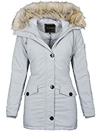 e5b9576fa956 Golden Brands Selection Designer Damen warme Winterjacke Winter Parka Jacke  Winddicht B513