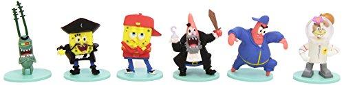 Abysses Corp - Juego de 6 minifiguras de Bob Esponja