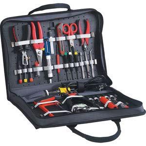 Kennedy-Pro Werkzeugtasche Cordura schwarz 450 x 330 x 80 mm Reißverschlußtasche 2 Werkzeugtafeln -