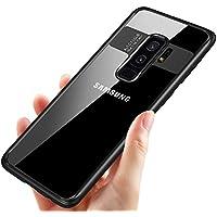 Tronisky - Funda Samsung Galaxy S9 Plus, Carcasa Galaxy S9 Plus Silicona Protectora Funda Suave TPU Gel Delgado Anti-Arañazos Bumper Case para Samsung Galaxy S9+ Case Cover, Negro
