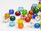 Rocailles Perlen   4.5mm, Color Mix, 1000 Stück