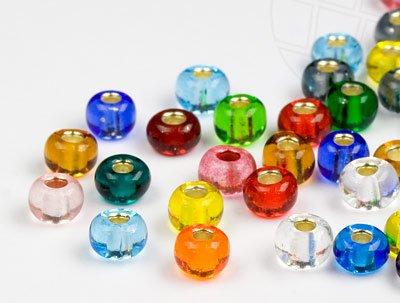 Preciosa Rocailles Perlen | 4.5mm, Color Mix, 3000 Stück