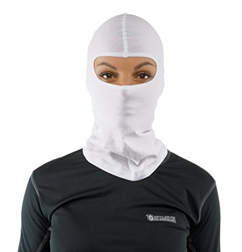 STARKS Sturmhaube Motorrad Sommer Balaclava Herren Fahrrad Sturmmaske | 90% High Quality Baumwolle Quick Dry, Protect From Dust Sun Wind | Ideal for Summer Extreme Sport Rad Motorcycle Bike Outdoor (Layer Balaclava)