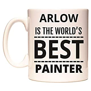 ARLOW is The World's Best Painter Mug by WeDoMugs®