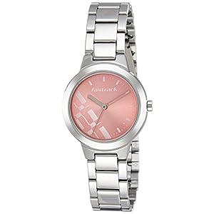 Fastrack Analog Dial Women's Watch (Pink, 6150SM04)-NM6150SM04 / NL6150SM04