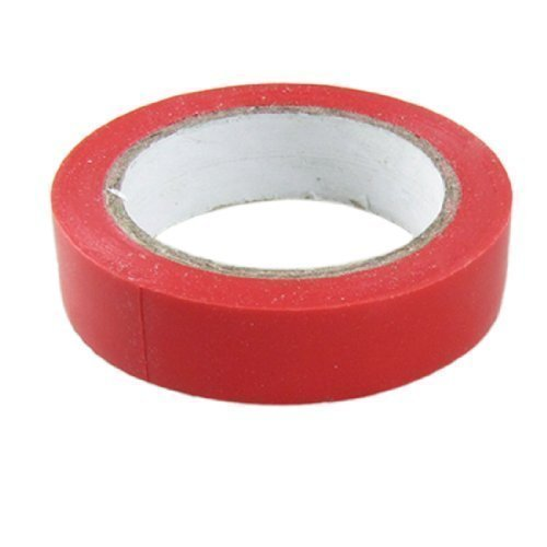 sourcingmap® 71mm x 17mm Rot PVC Selbstklebend Isolierband Rolle