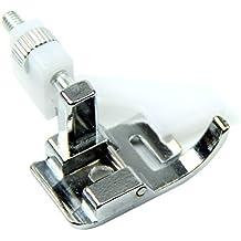 SODIAL Nuevo Prensatelas de maquina de coser de dobladillo ciego de broche