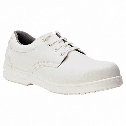 Portwest Steelite? (FW80) - Chaussures de Sécurité - Adulte Unisexe (EUR 40) (Blanc)