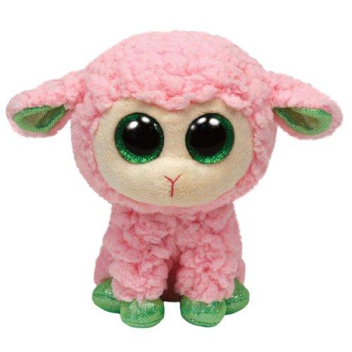 TY 36107 - Babs - Lamm, Glubschi, Beanie Boos, Ostern, 15 cm, pink