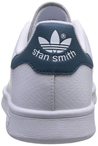 adidas stan smith j blu unisex bambini