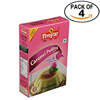 Caramel Pudding Strawberry 100g Box, Pack of 4