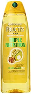 Garnier Fructis Triple Nutrition Shampoo, 384ml