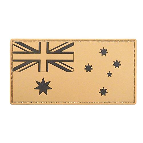 Mud Desert Australia National Flagge Morale Taktisch Tactical PVC Gummi 3D Touch Fastener Aufnäher Patch -