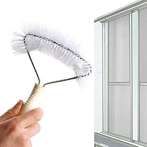 kingfly écrans fenêtre Brosse de nettoyage pour brosse Filet anti moustique pour fenêtre Home Textiles fenêtre traitements