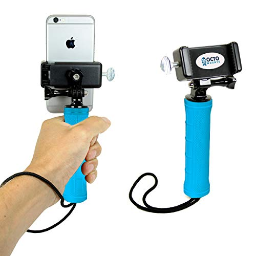 c47f495ae OCTO MOUNTS  Handheld Stabilizer for Cell Phone or GoPro Camera. Compatible  with Action Cameras