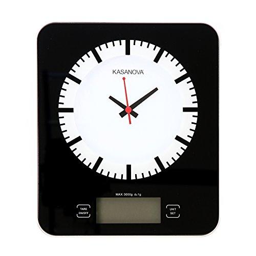 Bilancia KASANOVA elettronica con orologio