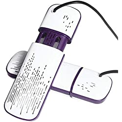 MZL Secadora Botas electricas/Escalable/Temporizador/Esterilizador de ozono Desodorante en seco para Evitar el Mal Olor