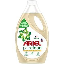 Ariel PurClean Lessive Liquide 1 980 ml 36 Lavages