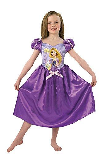 Rubies 3888798 - costume per travestimento da rapunzel bambina, s, colore: viola