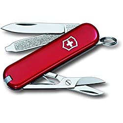Victorinox Classic SD - Navaja multiusos, color Rojo, 58 mm