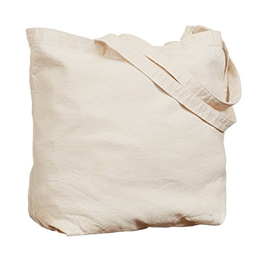 Cafepress–Because I m the DM–Borsa di tela naturale, tessuto in iuta small Khaki