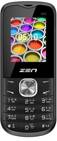ZEN X23 Dual SIM Feature Phone (Black-Red) offer