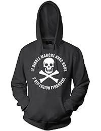 Rock Style 2Rep Fremdenlegion Légion étrangère Skull