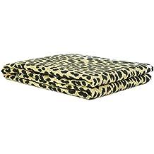 Morbidissimi - Tejido para decoración - Multiusos - Diseño Leopardo–Diferentes medidas