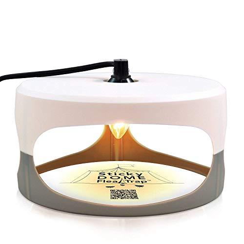 t Sticky Dome Bed Bug 2 Kleber-Scheiben. Odorless nicht giftiges und natürliches Flohkiller-Trap-Pad Familie, kinder- und tierfreundlich, beste Schädlingsbekämpfung, Weiß Garten In ()