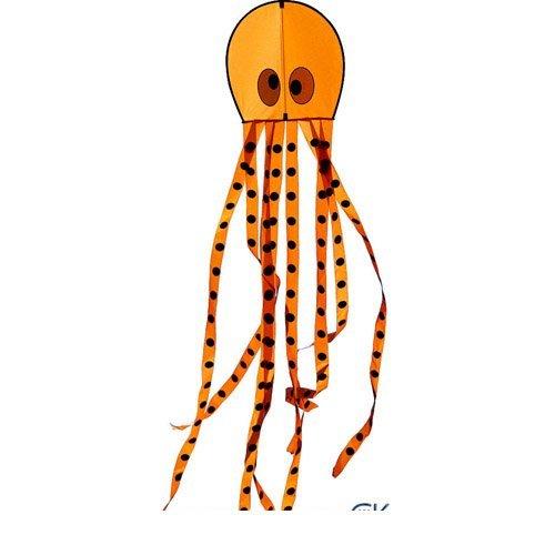 Orange Opie the Octopus Kite by New Tech Kites