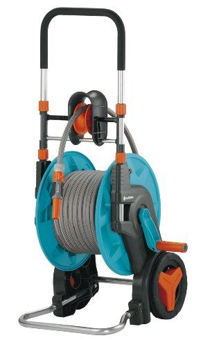 Gardena 60 HG Enrouleur mobile pour tuyau d'arrosage 13 mm x 20 m