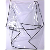 homcom 5664-0036cover Regenschutz für Kinderanhänger Regenüberzug 36, transparent