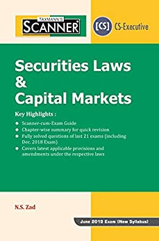 Descargar Scanner-Securities Laws & Capital Markets (June 2019 Exam-New Syllabus)(January 2019 Edition) PDF