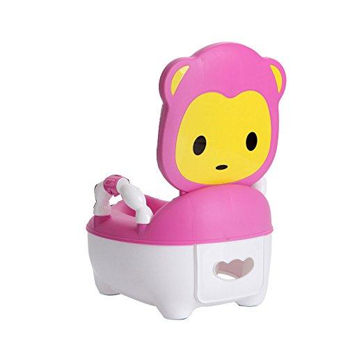Children's toilet Enfants Toilette- Toilettes Enfants Garçons Et Filles Extra Large Enfant Tabouret Bébé Pot Bébé Bleu Petite Toilette