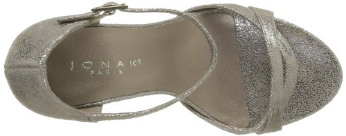 JONAK - 88, Scarpe col tacco Donna Grigio (Gris (Taupe))