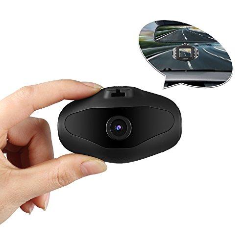 Mini Dash Kamera, Sendowtek Auto Dashcam Camera Autokamera 1080P LCD-Bildschirm 170° DVR Recorder mit WDR, G-Sensor, Parkmonitor usw