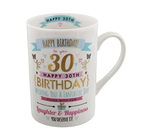 30th Birthday Gift For Her - 30th Birthday Mug Gift