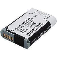 subtel® Batterie premium pour Canon PowerShot G1 X Mark II PowerShot N100 Legria Mini X (1900mAh) NB-12L Batterie de recharge, Accu remplacement