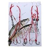 Best Crankbait Rods - Generic High Carbon Steel Fishing Hooks Explosion Hooks-Parent Review