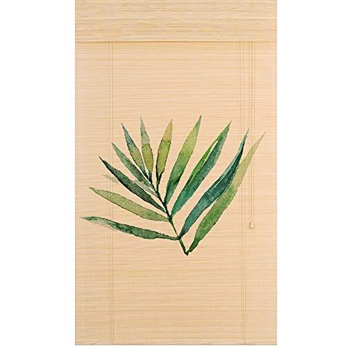 Persianas enrollables y estores Persiana Enrollable con Cenefa - Persianas Enrollables con Filtrado De Luz (bambú Natural), Tamaño Múltiple (Tamaño : 60x200cm)