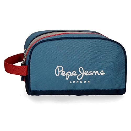 Pepe Jeans Neceser Doble Compartimento Adaptable Yarrow