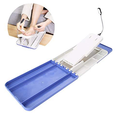 Pediküre Fuß Stehen mit Licht, einstellbare Nagelbasis mit Lampe für DIY Maniküre Assistant Studio Support Plate Tool
