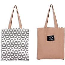 Amazon.es: bolsas de tela baratas - Rosa