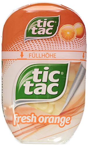 Tic Tac Big-Pack fresh orange, 8er Pack (8 x 97 g)