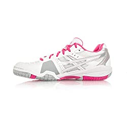 Asics Gel-blade 4 Women Us 10 White Running Shoe