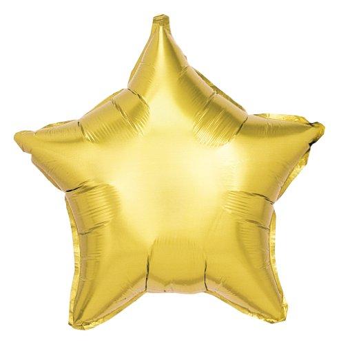 F10008S Betallic - Stella Foil Palloncino 19 Inches - Oro
