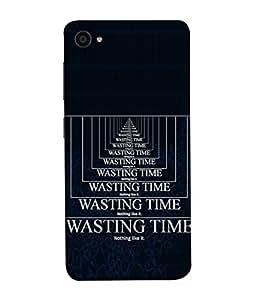 PrintVisa Time Is Money 3D Hard Polycarbonate Designer Back Case Cover for Lenovo ZUK Z2 :: Lenovo Zuk Z2 Plus