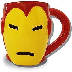 Taza de Iron Man 3D de Marvel Comic